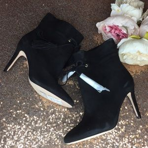 Kate Spade Dillane Ankle Boots Suede Pumps 6